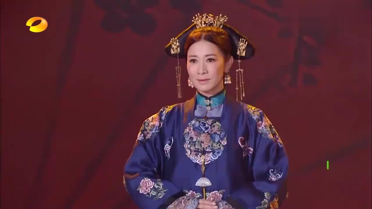 佘诗曼秦岚古装出场秀美爆了,一举一动都是优雅,画面太美了!