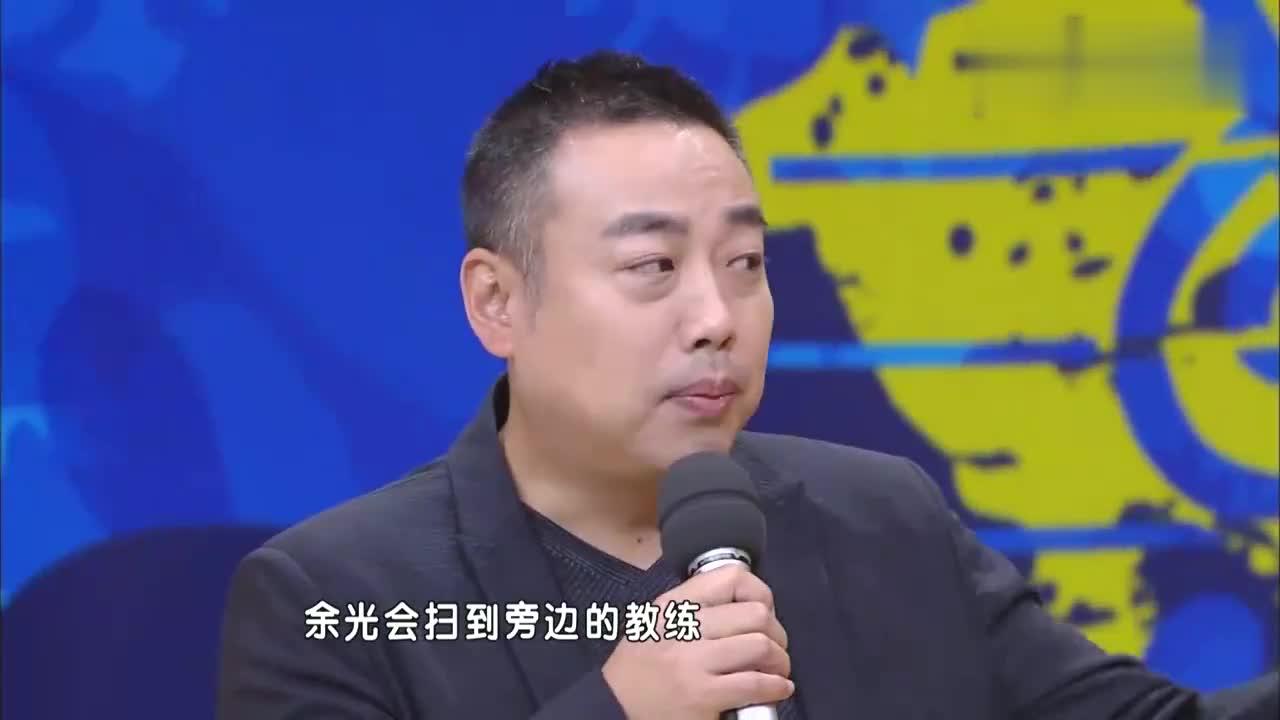 张继科给汪涵说他没没睡醒,要不是刘国梁指导员,比赛就输了
