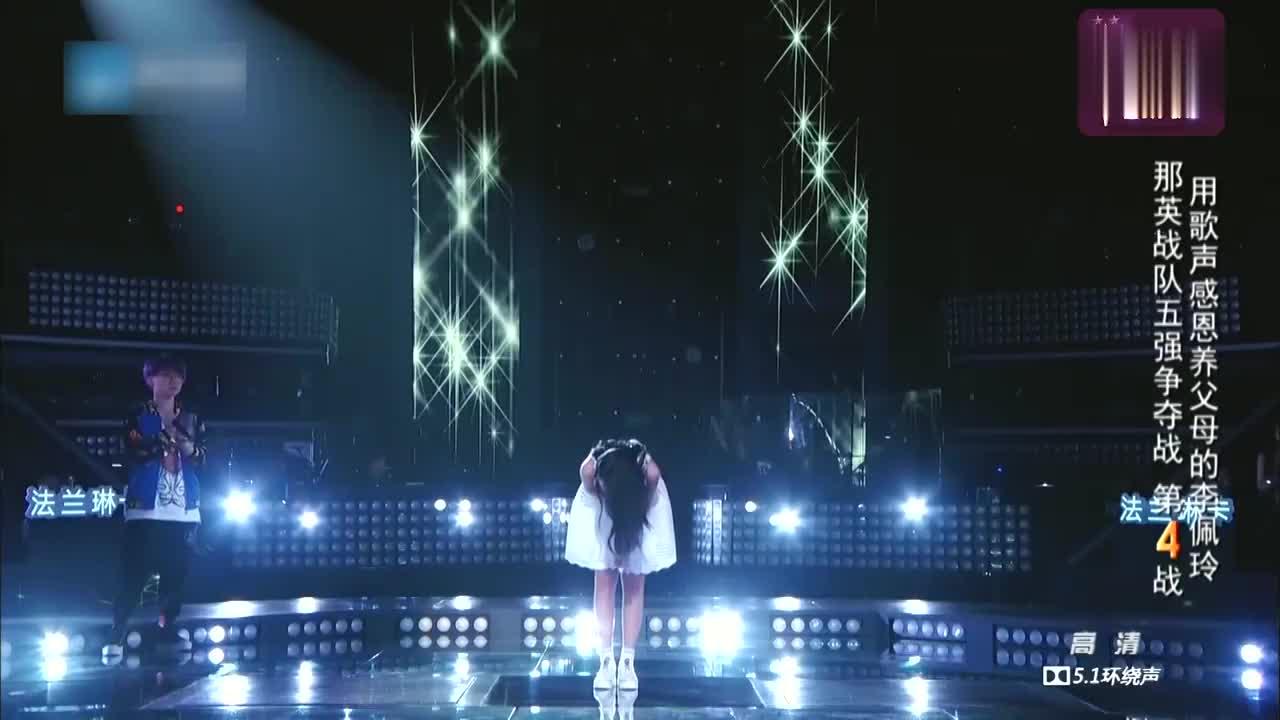 中国新歌声,庾澄庆爱上了李佩玲,说她有邓丽君的影子