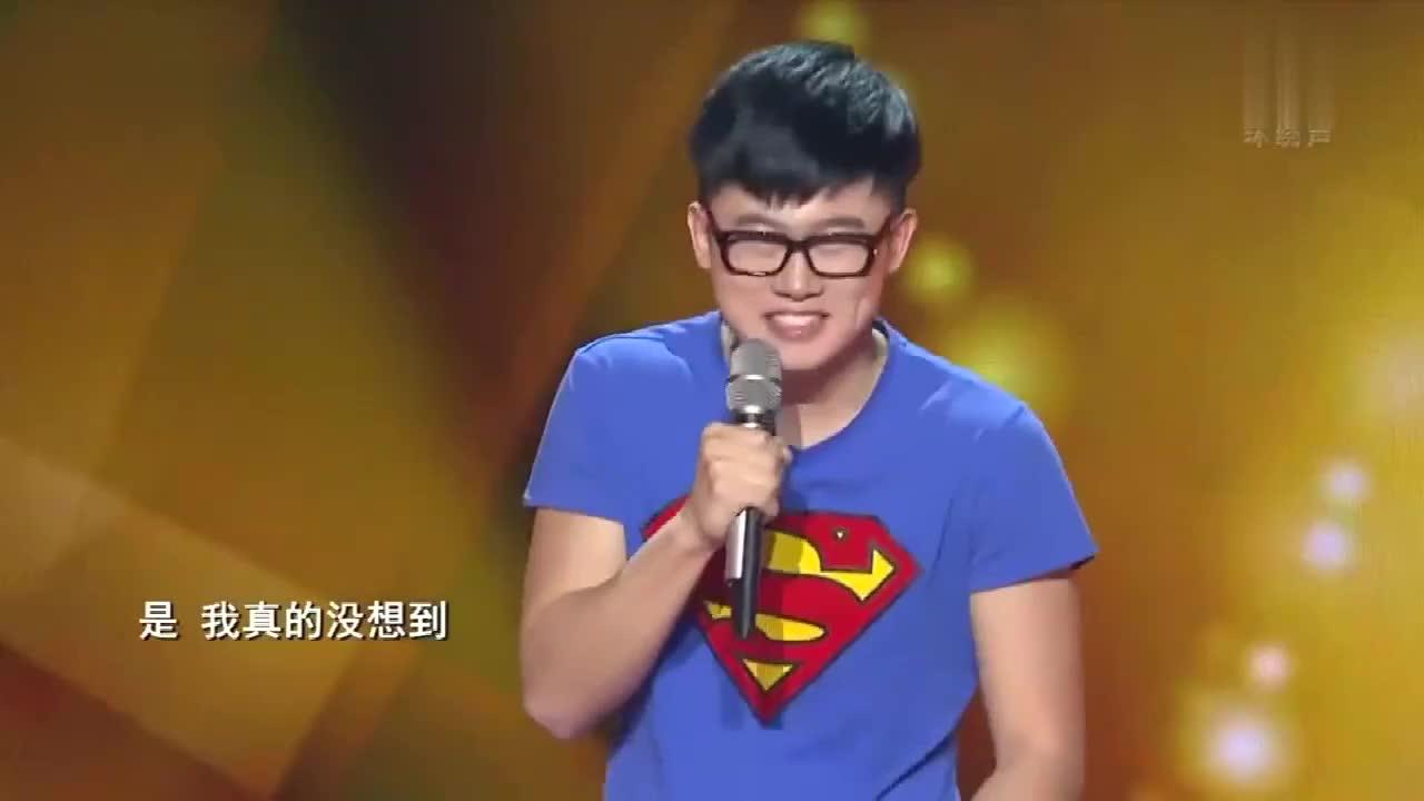 中国好歌曲:歌声里面有幽默元素,导师赞许,说现在严肃音乐太多
