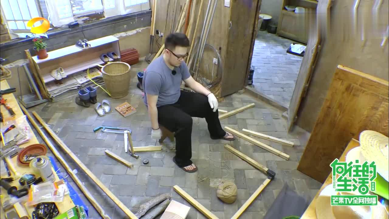 何炅黄磊迷上泡东西,巴图刘宪华变傻气兄弟,做木工被宋丹丹吐槽