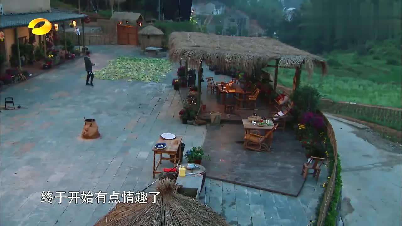 向往:黄磊做炖鱼,何炅宋丹丹专业捧场,不想巴图更强笑坏何炅!