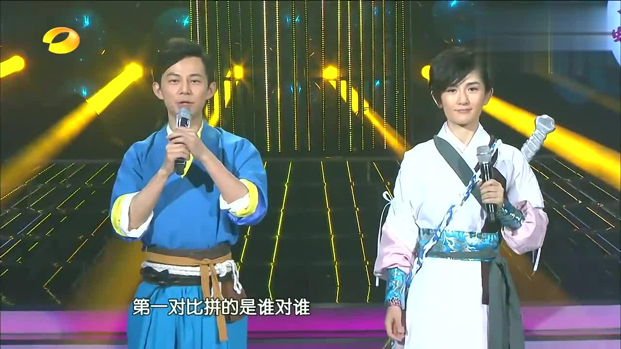 闫肃模仿韩庚,自称跟本尊帅的有一拼,不知道哪里来的自信!