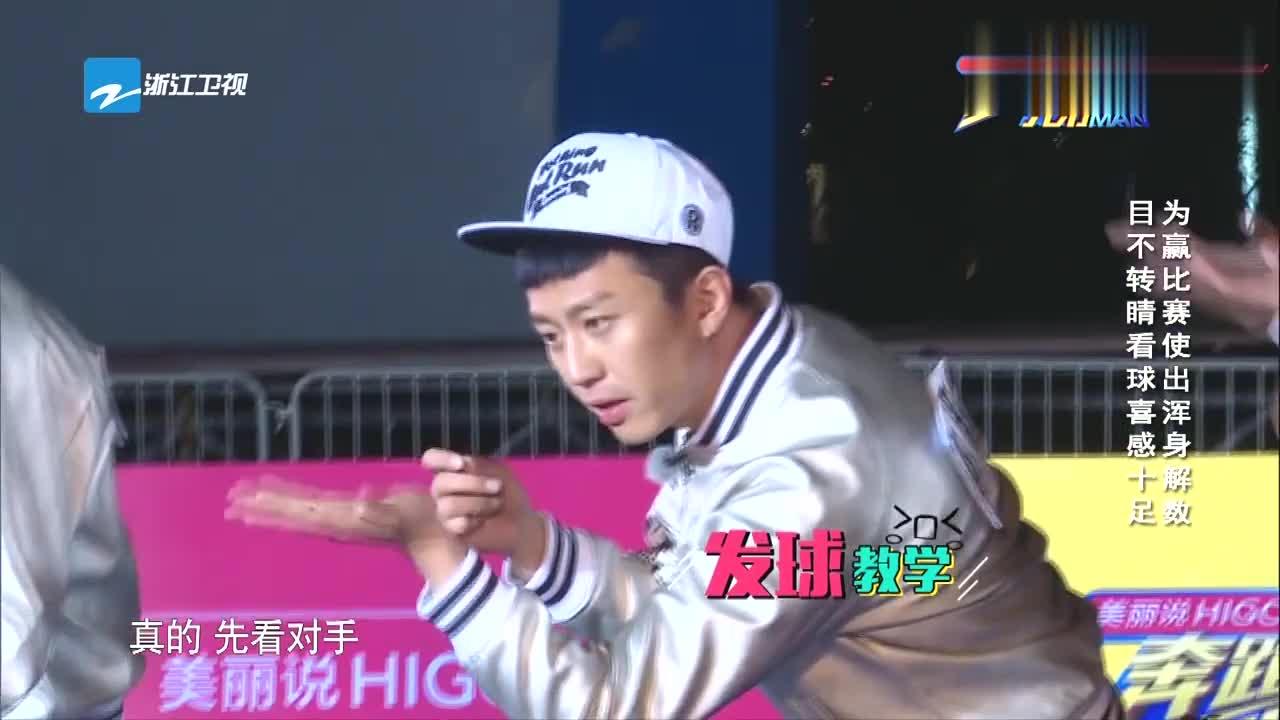 """邓超变""""话痨"""",干扰乒乓球员,一旁的陈赫受不了吐槽超哥"""
