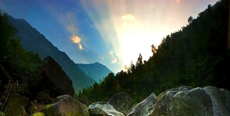 跟着《山海经》看地理,桂林猫儿山️风景,结果我看到的是个啥!