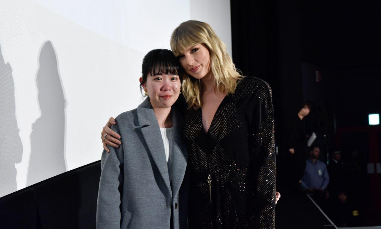 美国歌手泰勒·斯威夫特(Taylor Swift),出席东京粉丝见面会