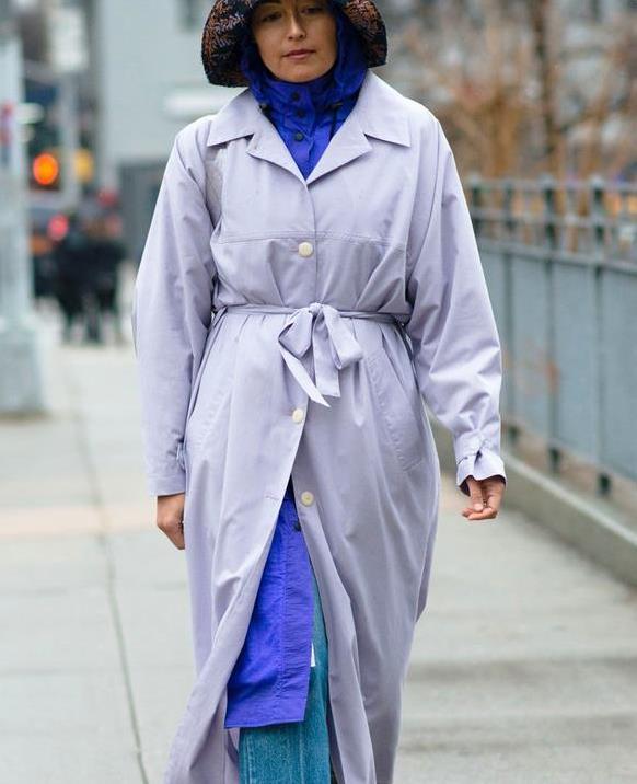 """最近火了一种穿法,叫""""外套+外套"""",优雅时髦,温暖整个秋冬"""