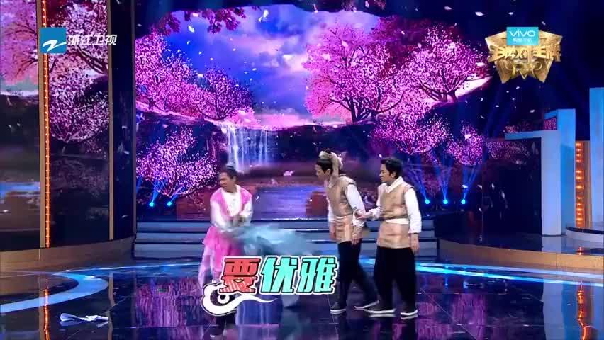 黄日华和宋小宝一起唱歌,王祖蓝被惊呆,网友:靖哥哥太实诚了!
