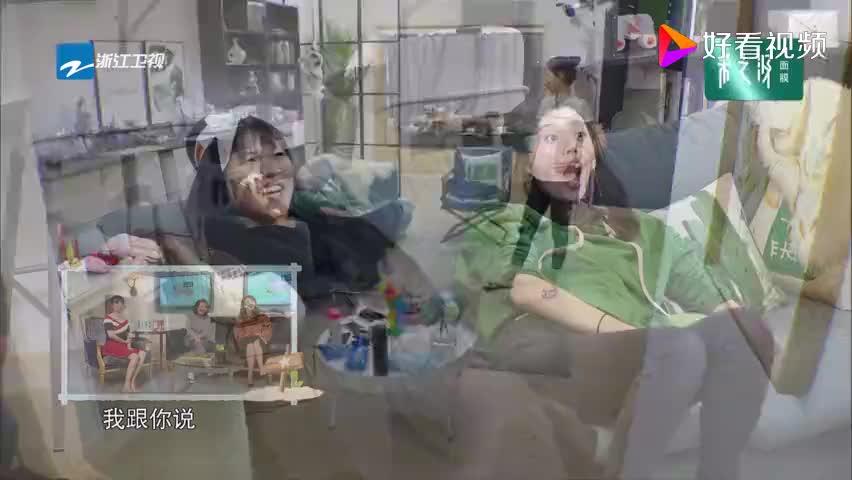 谢依霖与奚梦瑶韩雪大秀舞蹈,三人乐在其中,场面真是太搞笑了