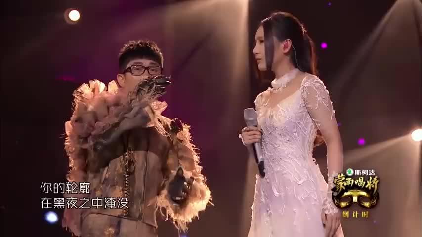 这首《画心》堪称经典之作,金志文和刘美麟完美搭配,气场全开