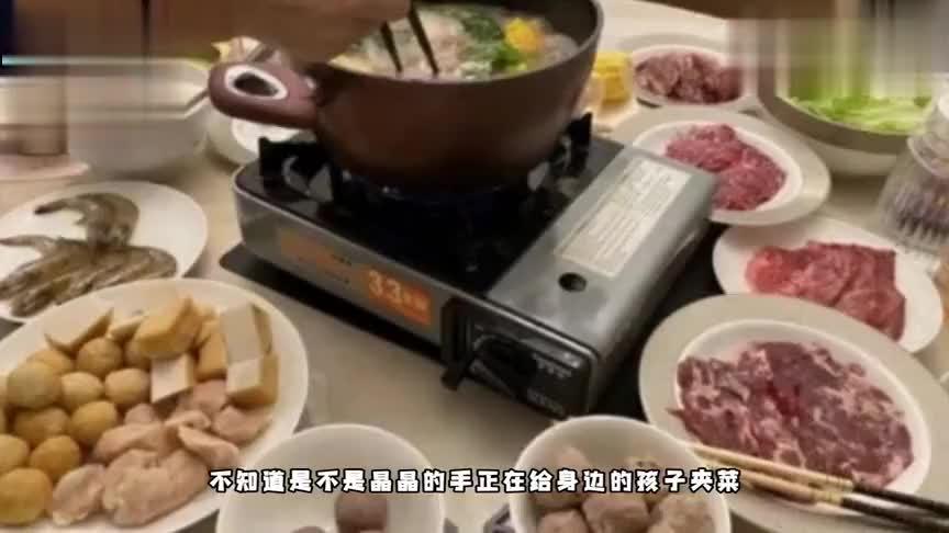 郭晶晶老公霍启刚晒家庭晚餐,菜品朴素接地气令人咂舌