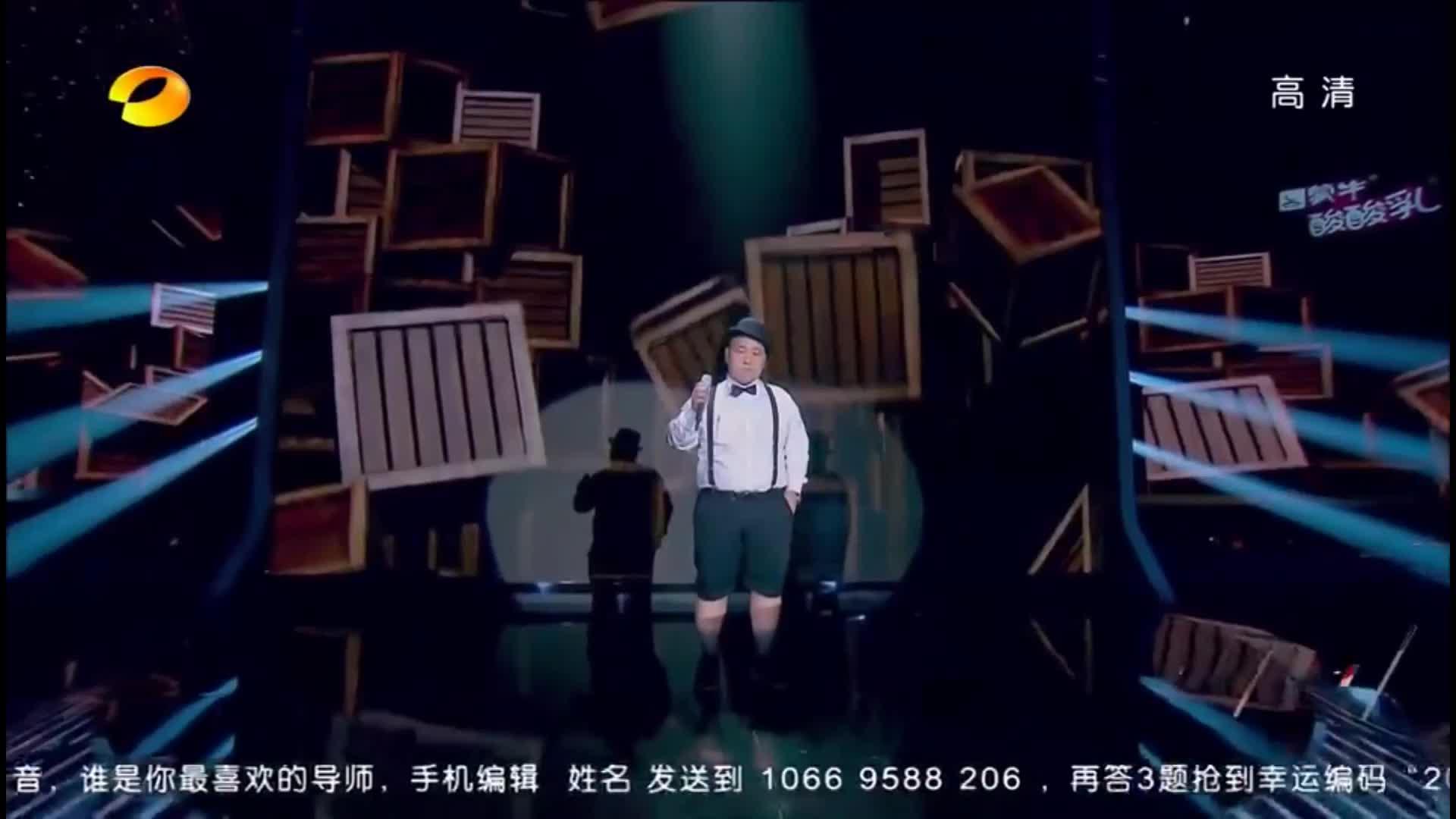 中国最强音:面馆小哥深情演唱《想太多》,情难控现场泪奔!