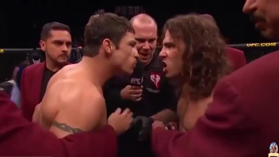 盘点UFC格斗里那些如暴徒一般的攻击 下手真得狠