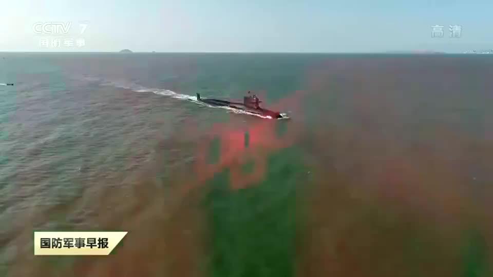 新型潜艇发射最新型主战鱼雷,解放军这场演习曝光多种秘密武器!