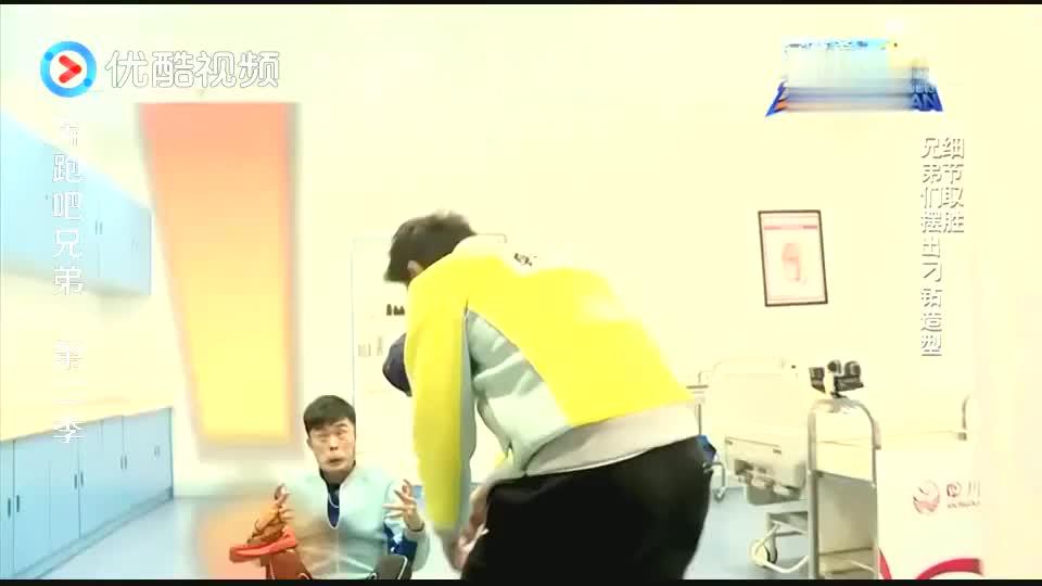 陈赫简直在用生命做综艺,偶像包袱碎一地,韩庚在一旁笑到发颤