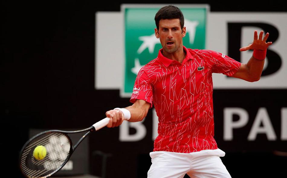 2020意大利罗马网球大师赛男单决赛,德约科维奇2比0施瓦茨曼夺冠
