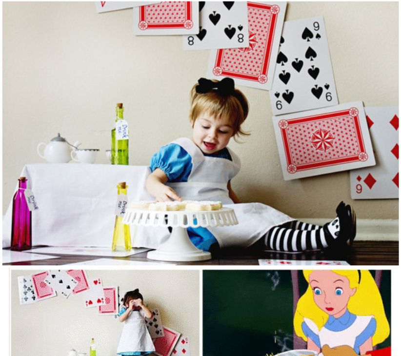 外国摄影师把自家孩子打扮成迪士尼卡通角色,萌到不行!