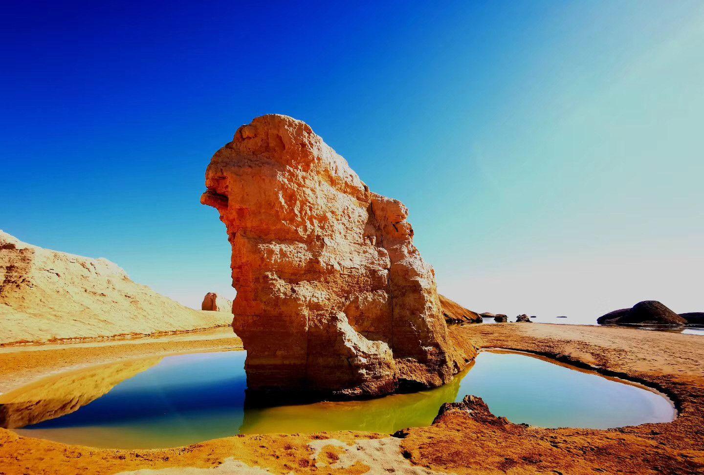 自由行之青海第三十八站:走进大柴旦乌素特水上雅丹地质公园