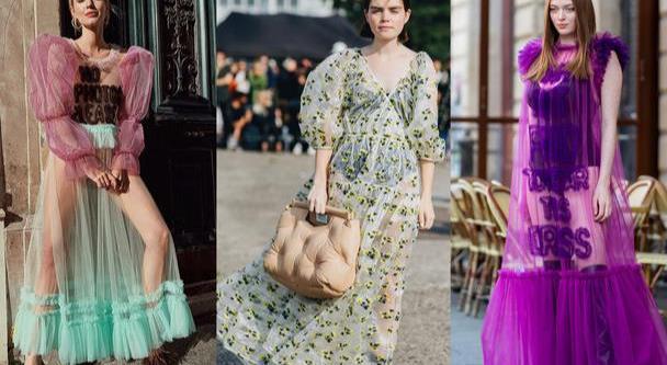 """郝蕾""""花瓶裙""""好高级,彩色印花精致大气,身材饱满却有曲线"""