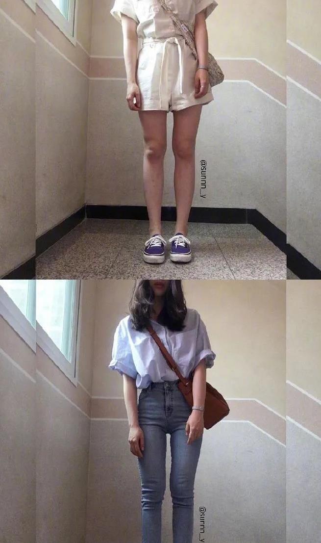 简单时尚的学生党日常穿搭 把常见单品搭配出不一样的感觉