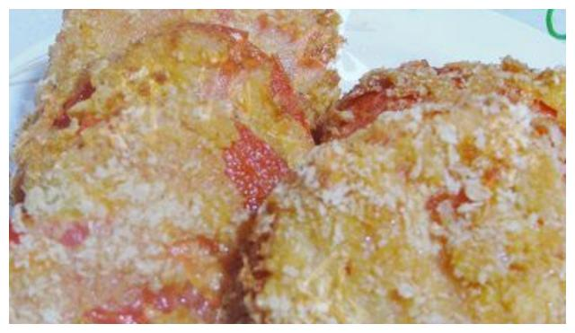 每天一道菜:油炸西红柿,做法简单又好吃,让你吃到不一样的口感