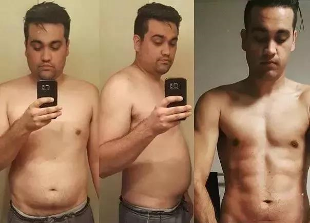 235斤胖哥一年减重77斤,啤酒肚变腹肌,逆袭成肌肉型男!