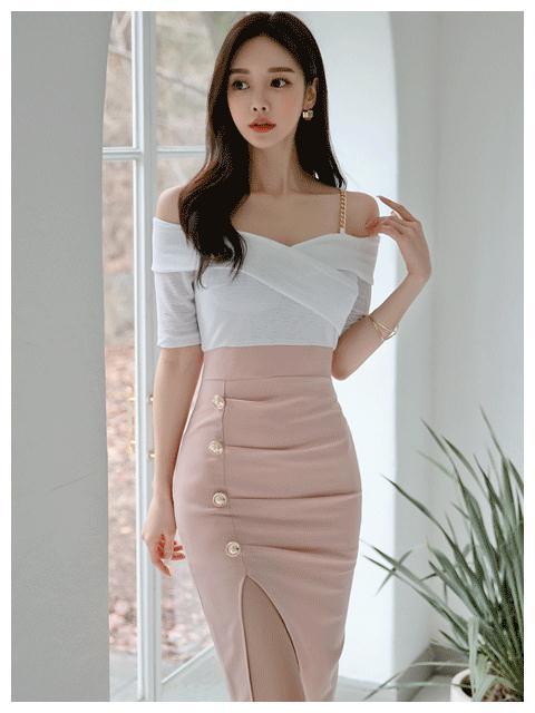 韩国网红孙允珠最新美照,瘦成一道闪电身材超棒