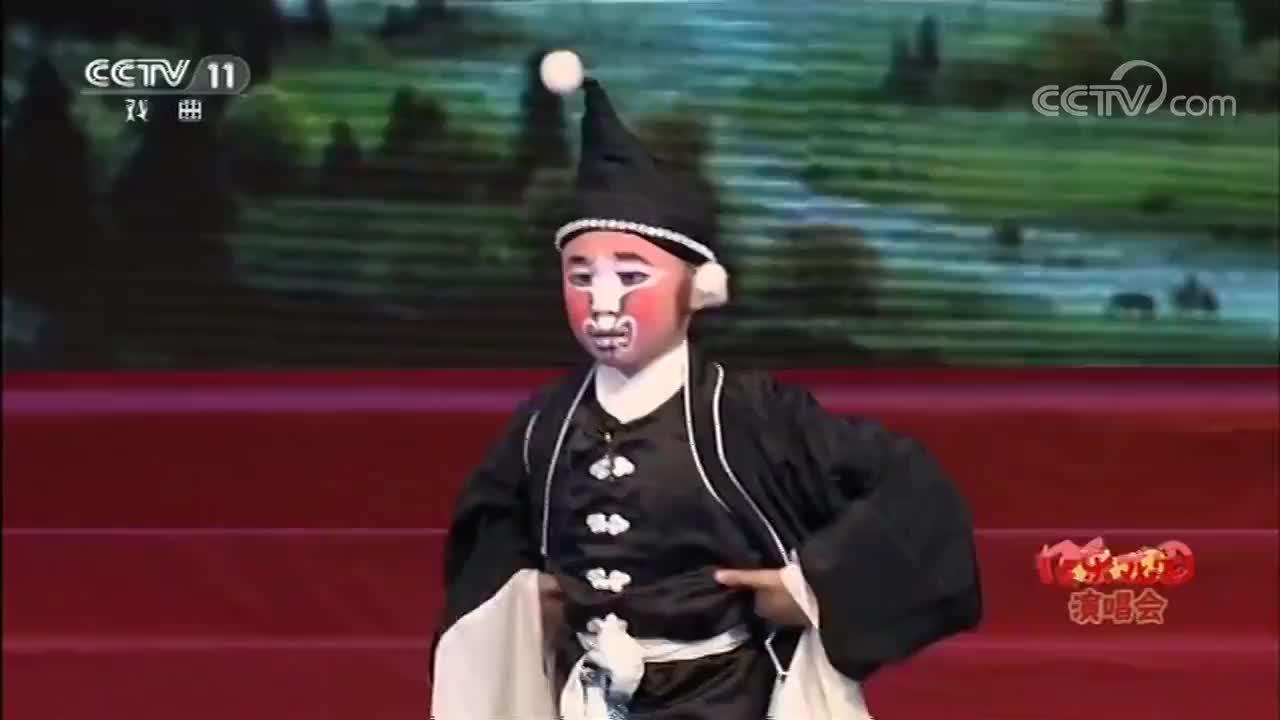 京剧《盗王坟》经典选段8岁小戏骨蔡宇轩唱的真好百听不厌