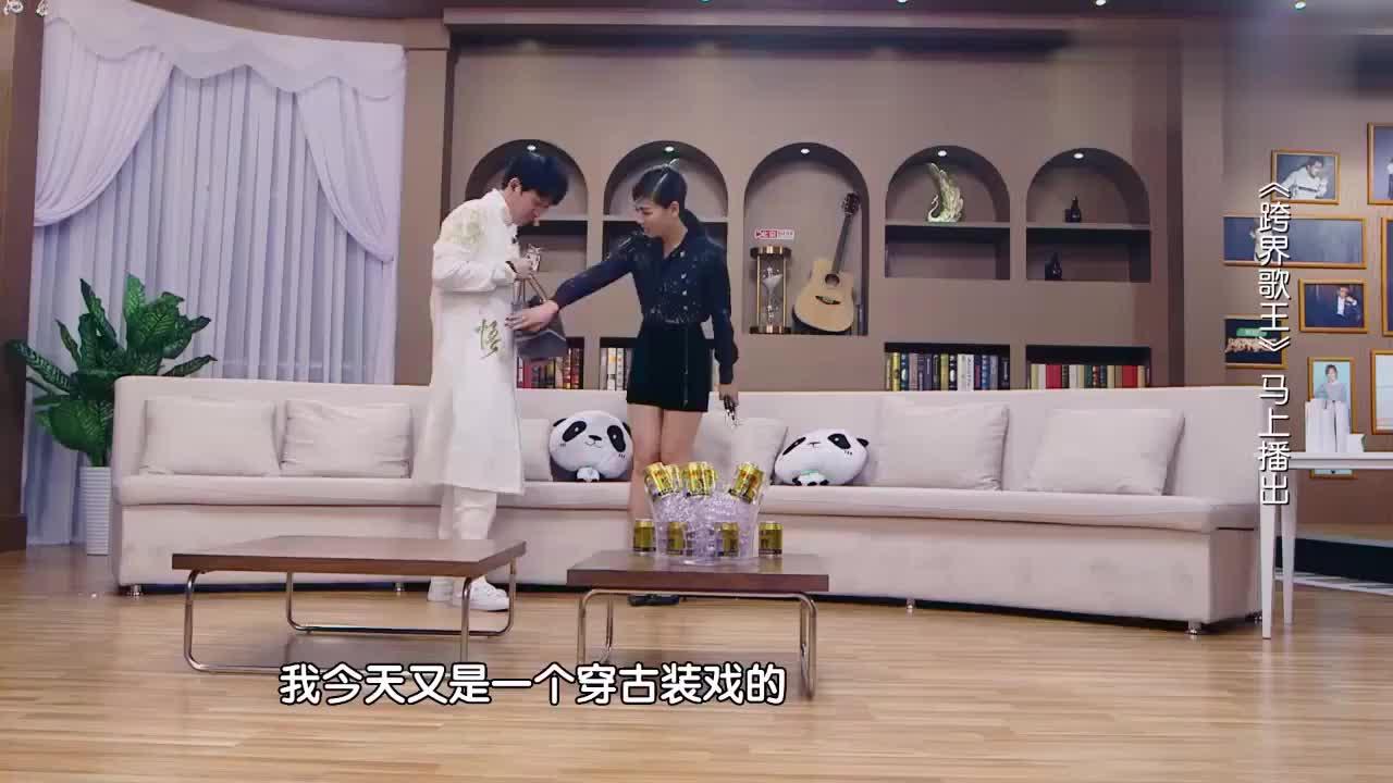 跨界歌王:李光洁惊艳亮相,一身雷人装扮很是吸睛,这大金链子