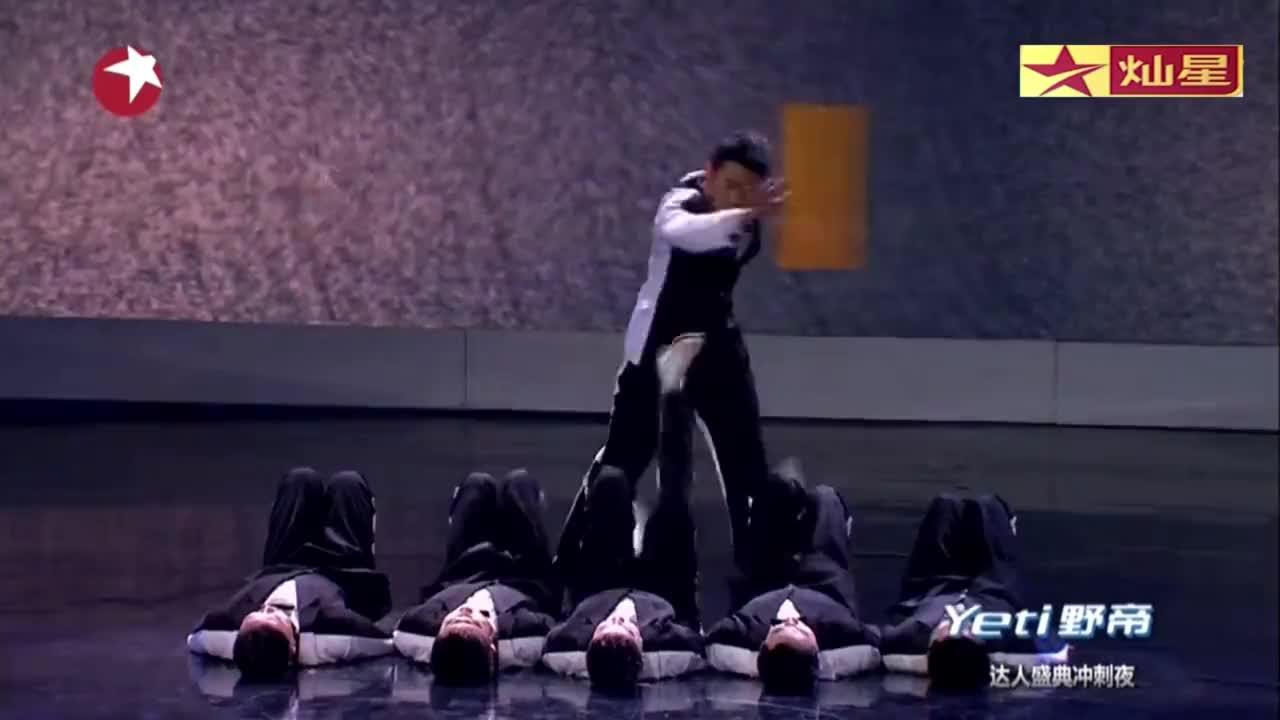 中国达人秀:6成都小伙达人秀冲刺夜,用街舞表达内心渴望