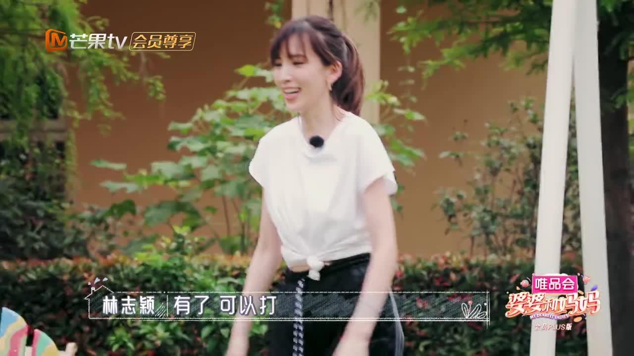 陈若仪和林志颖打羽毛球,意外暴露高颜值,网友:眼光真好!