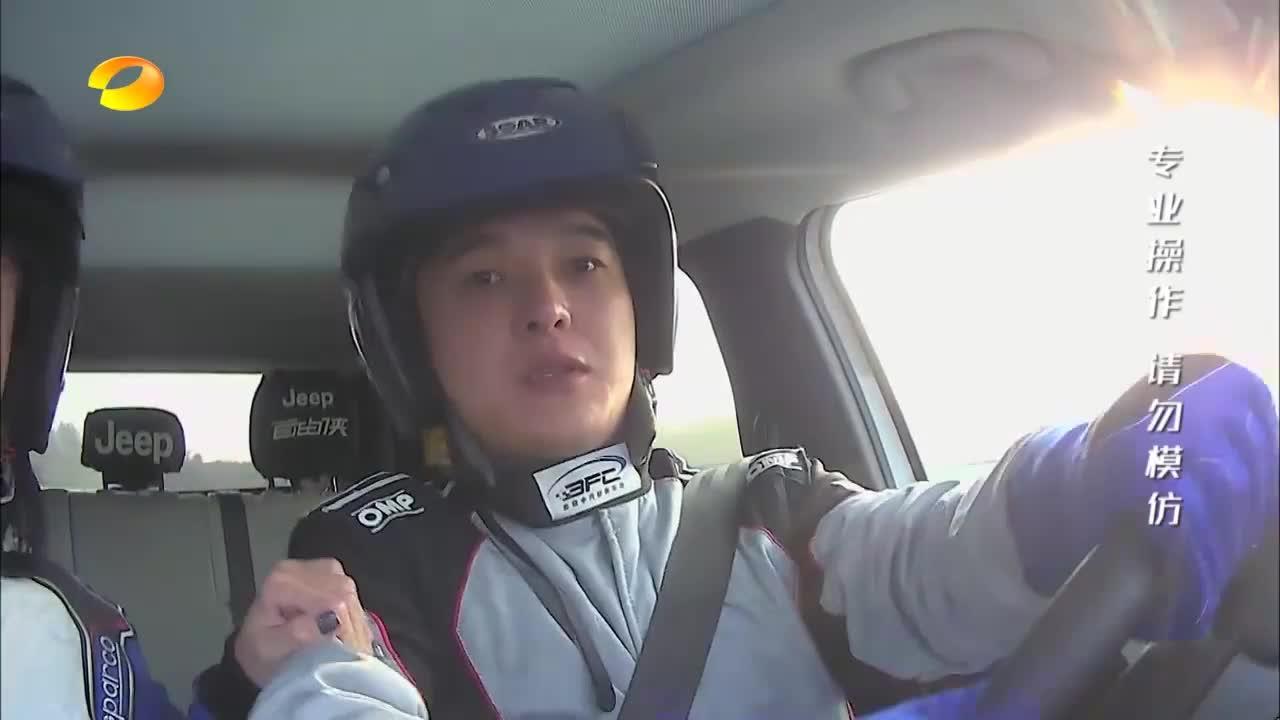 车辆冲出赛道演员临时甩锅,整懵张柏芝,估计打死演员的心都有了