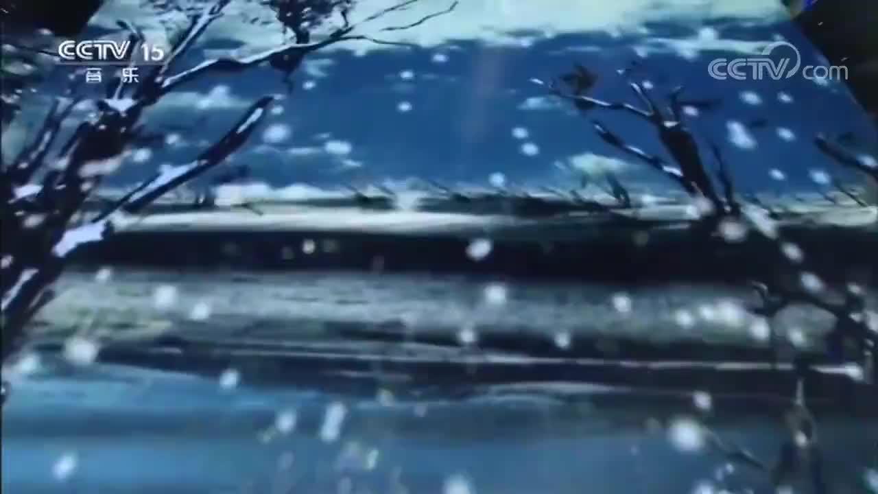 降央卓玛演唱经典歌曲《一剪梅》,人美歌甜,仿佛融入画中一般
