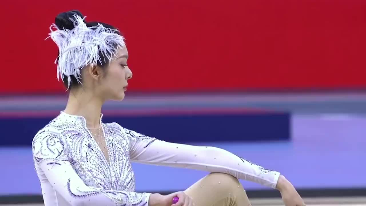 颜值高的体操女星:傅菁仿佛是仙女下凡,陈小纭球类体操惊艳众人