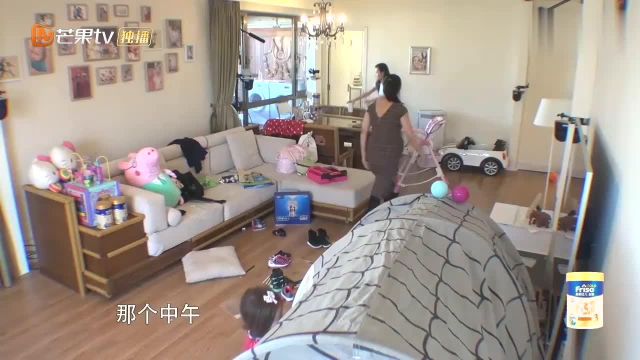 包文婧害怕虫子,让饺子抓虫子保护她,真不知道谁是妈妈