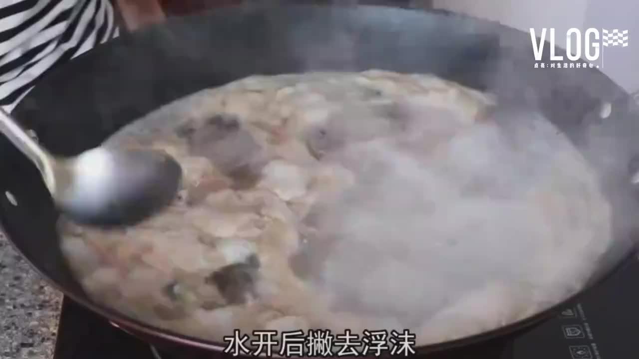 奶奶告诉我,砂锅猪脚的做法,满满的胶原蛋白