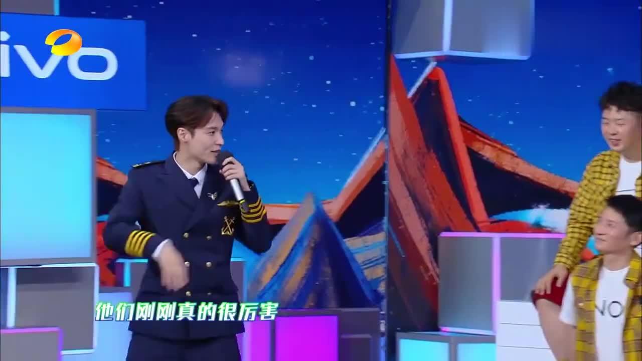 快乐大本营:张艺兴被李荣浩威胁?李荣浩现场直言:你看着办吧!