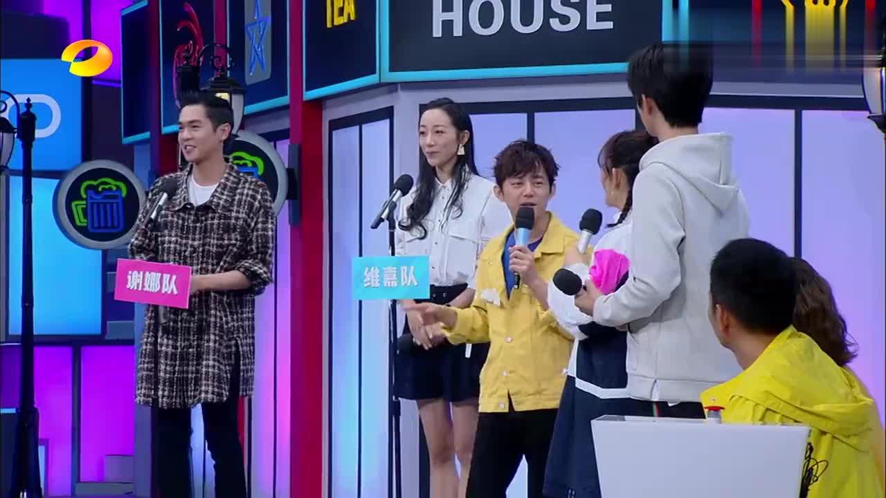 快乐大本营:张若昀简直笑死我了,声音年龄竟然都48岁了!