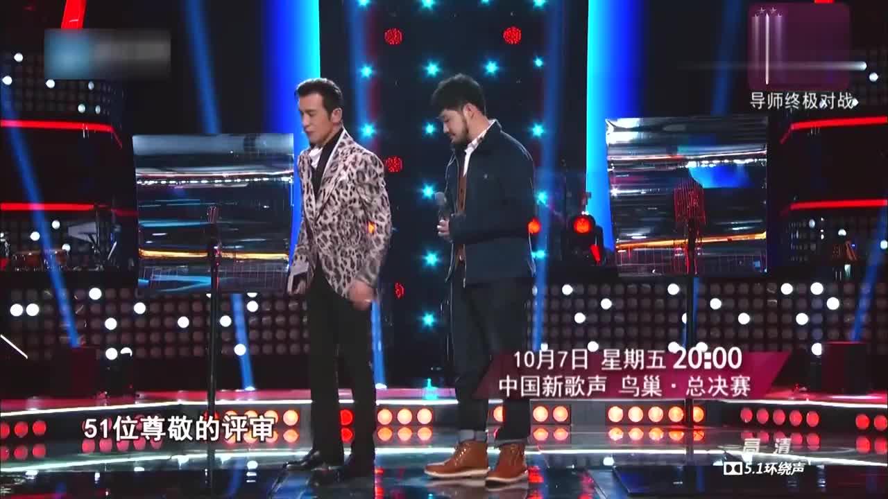 中国新歌声,专业评审们嫌弃苏立生太文静,投票环节很紧张