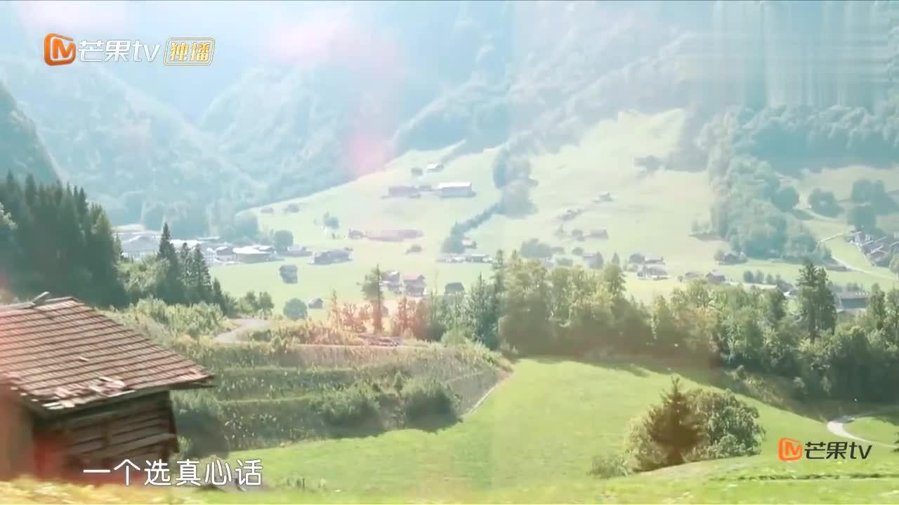 谢娜应采儿瑞士列车,表演丧尸,同车中国朋友被吓到不行笑死我了