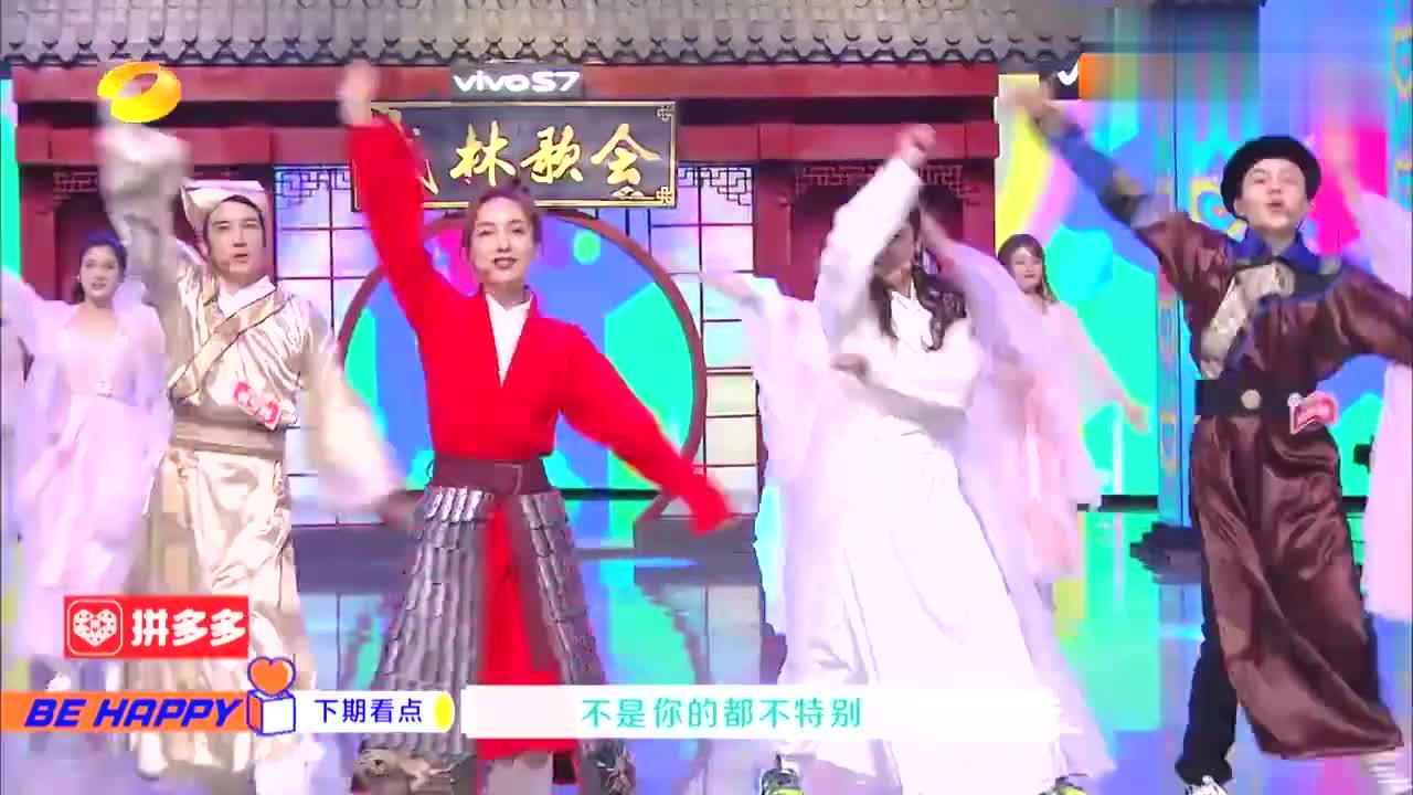 快本:张绍刚唱歌喝苦瓜汁,遭何炅吐槽:知道假唱但好歹装一下吧