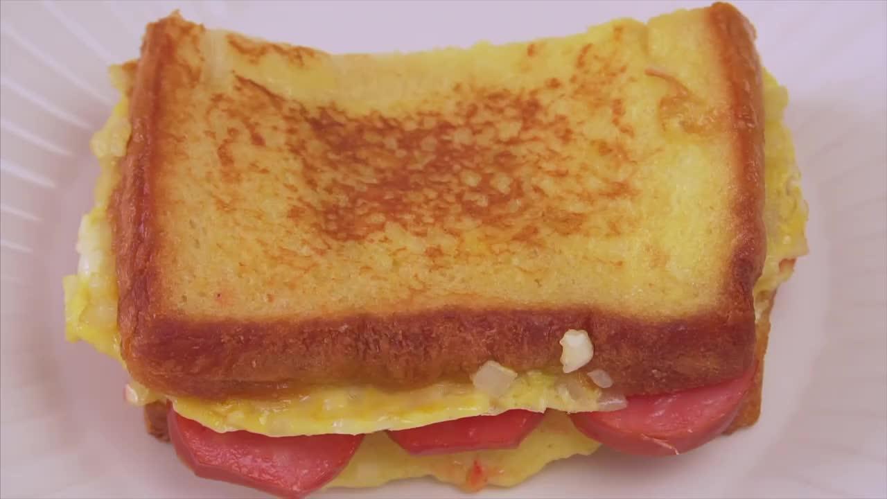 孩子挑食怎么办快来试试这种面包新吃法当做早餐孩子超喜欢