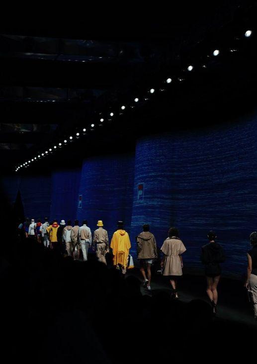 2020春夏米兰时装周图集:FILA航海风格成新时尚