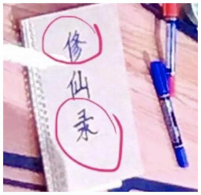 王一博孟美岐杨超越写错字,张艺兴拼错英文,手抖的明星真不少