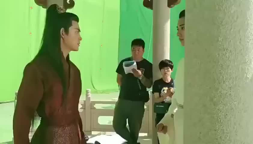 《琉璃》花絮:刘学义在片场和李欣泽对戏,两个人太默契了!