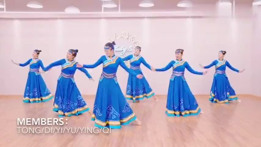 年会舞蹈《天边》蒙古舞