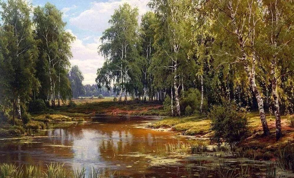 油画大师谢尔盖·巴索夫作品赏析