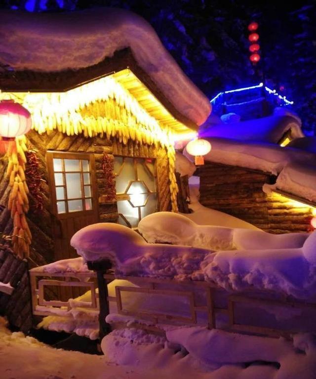 雪乡之夜·蘑菇屋带你进入童话世界