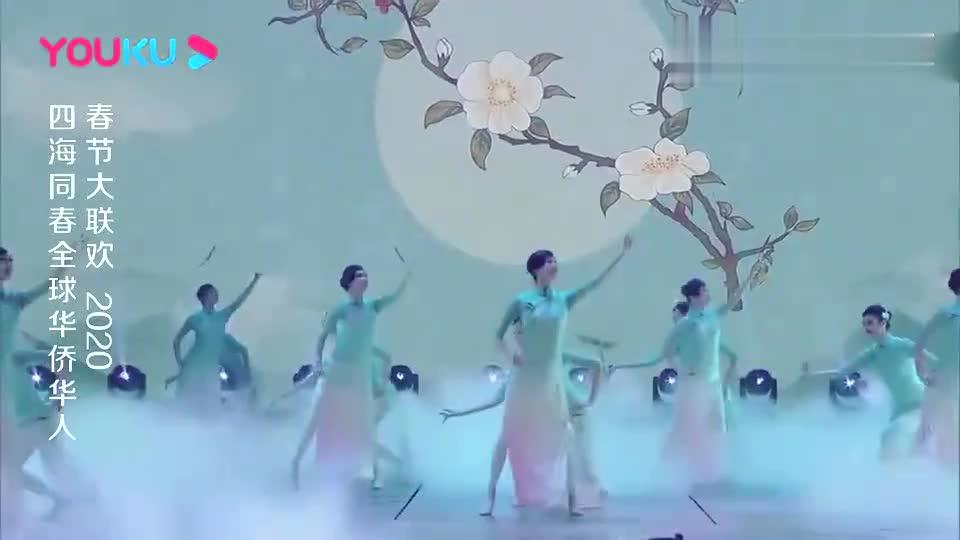 好一朵美丽的茉莉花,王鸥白色旗袍幽雅迷人,完美展现江南女子!