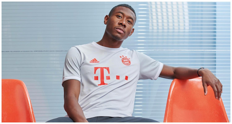 阿迪达斯发布拜仁慕尼黑2020/21赛季客场球衣